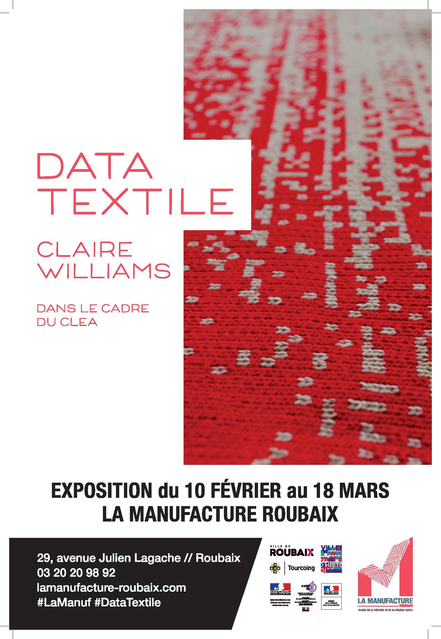 Data Textile par Claire Williams