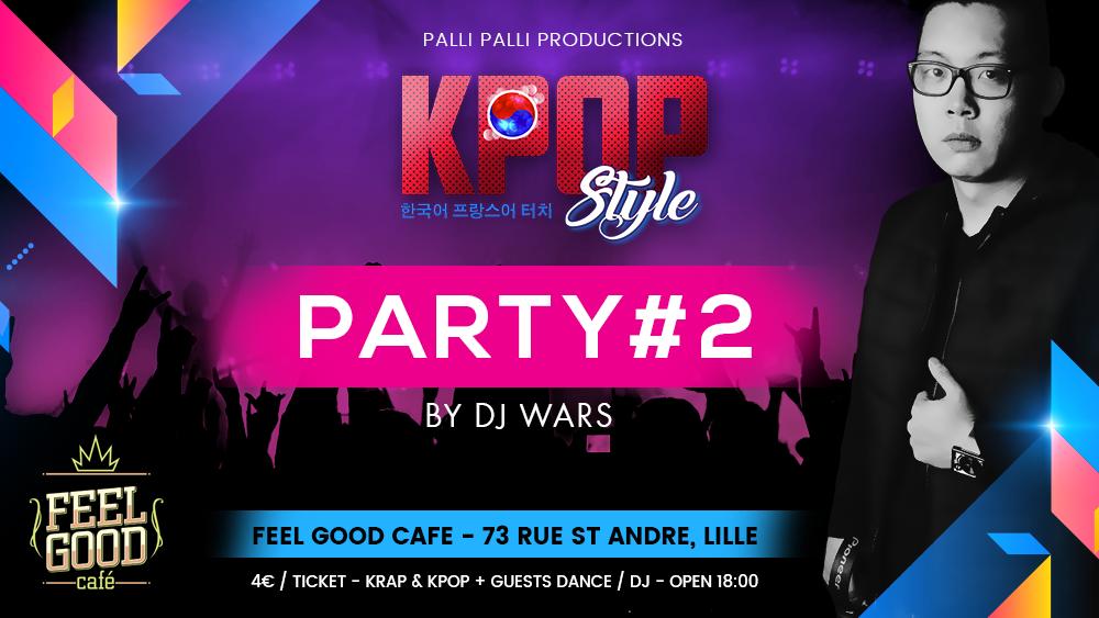 K-POP Style Party #2 avec DJ Wars