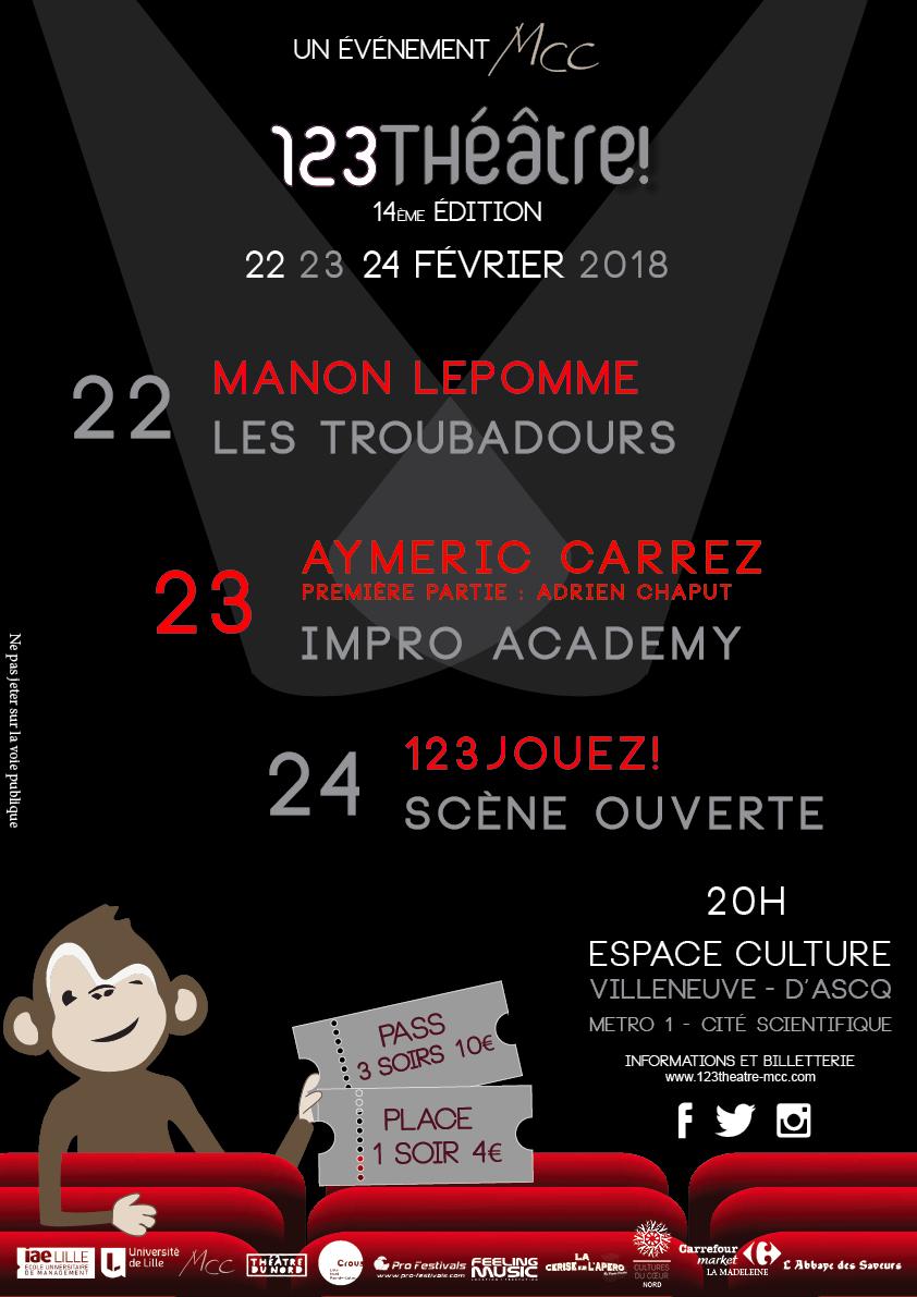 Festival 123Théâtre!