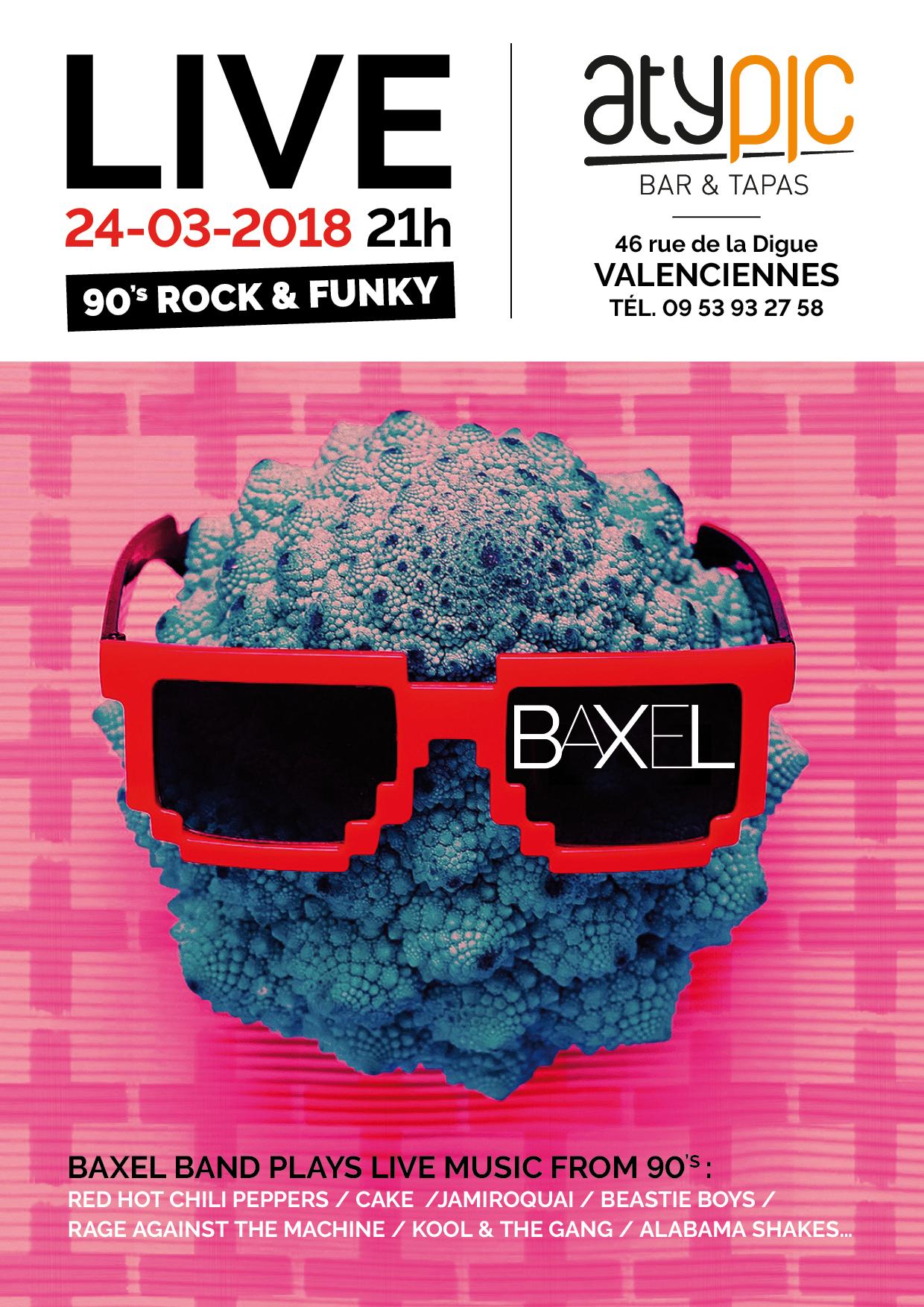 Baxel en live