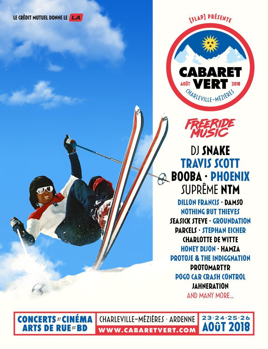 Le Cabaret Vert 2018
