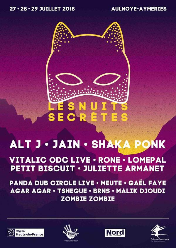 Festival Les Nuits Secrètes 2018