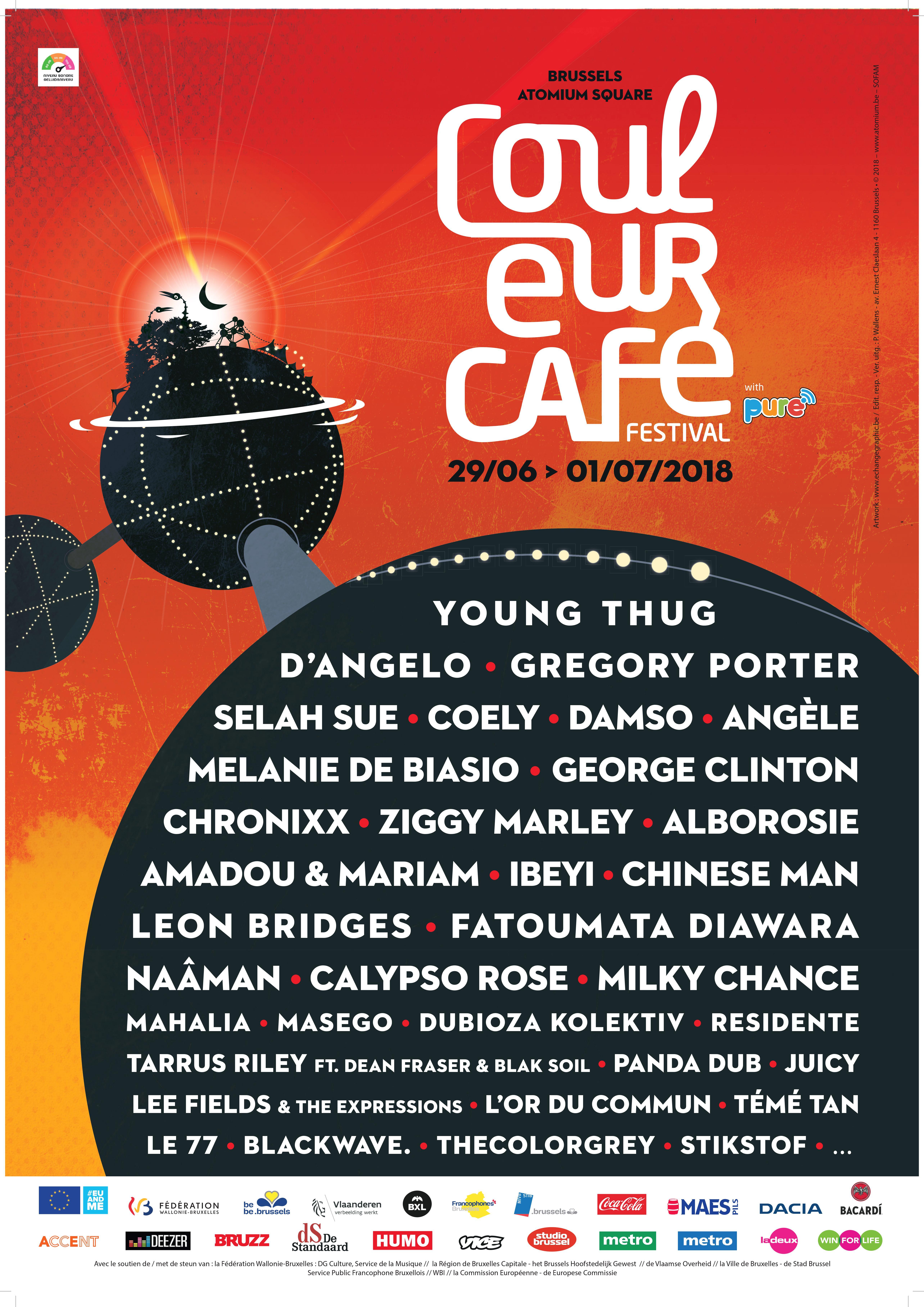 Festival Couleur Café 2018