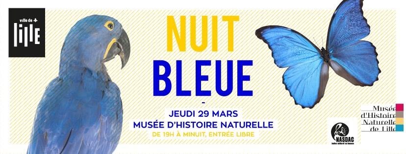 Nuit Bleue au Musée d'Histoire Naturelle