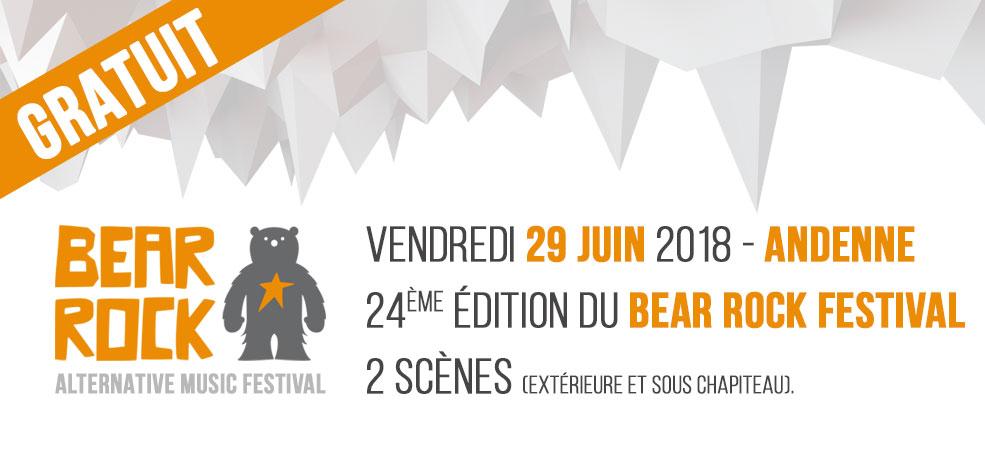 Bear Rock Festival 2018