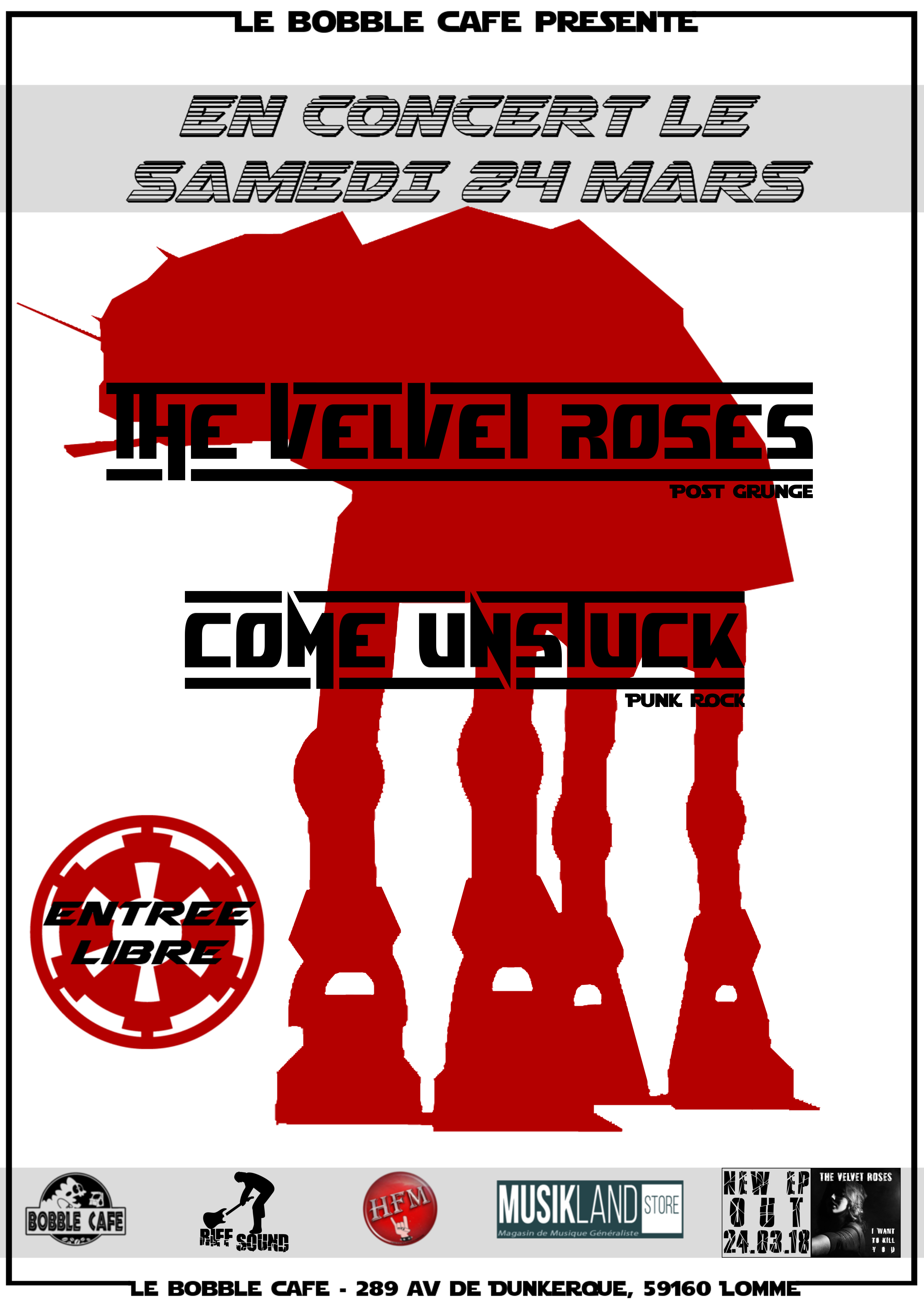 The Velvet Roses + Come Unstuck