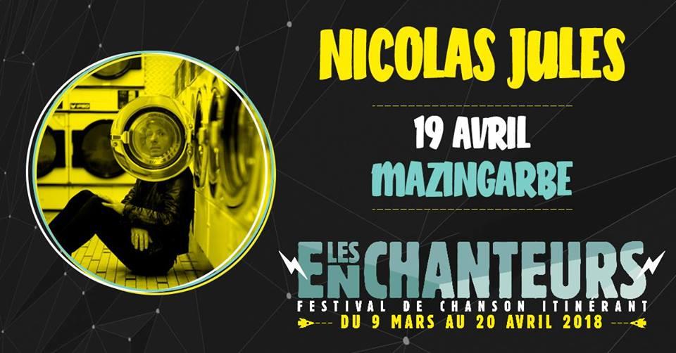 Festival Les Enchanteurs 2018 – Nicolas Jules (trio)