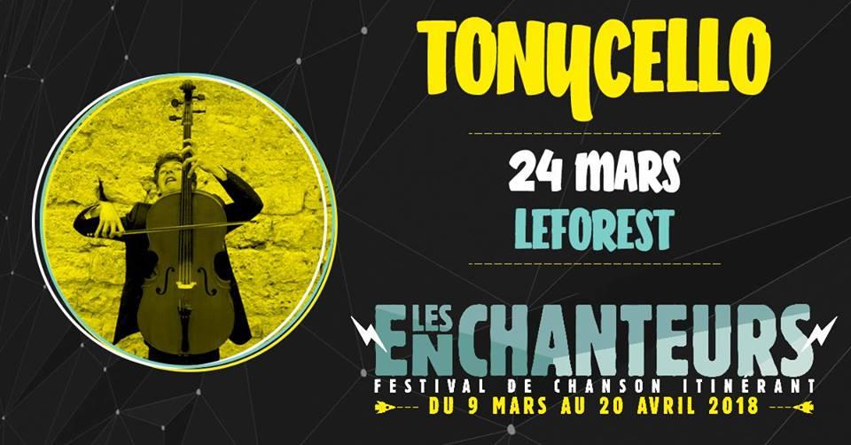 Festival Les Echanteurs 2018 – Tonycello