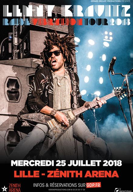 Lenny Kravitz – Raise Vibration Tour