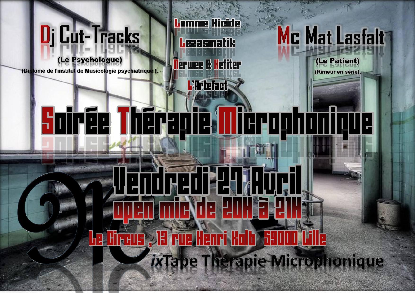 Soirée Thérapie Microphonique