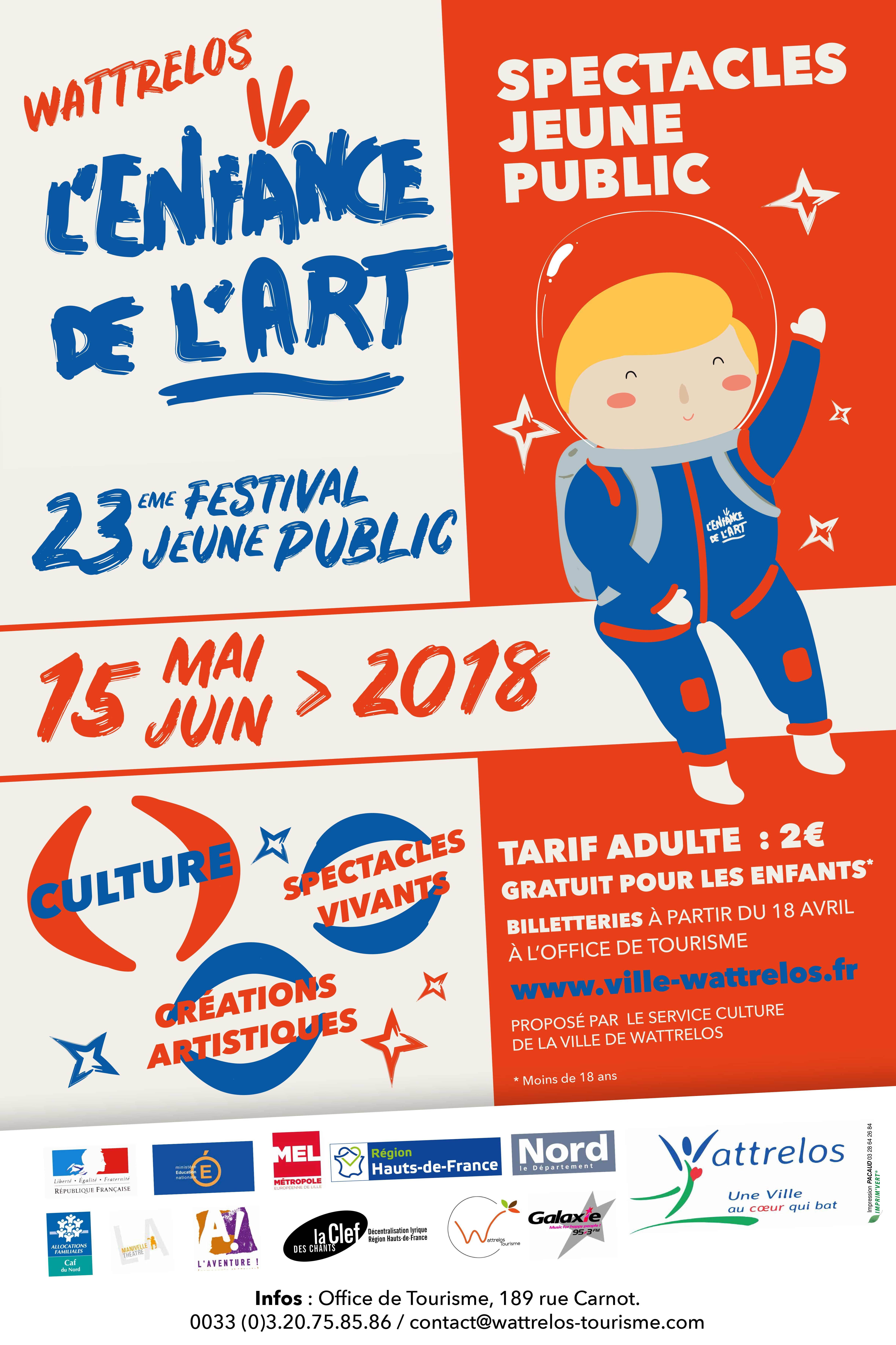 L'enfance de l'art – 23ème festival jeune public