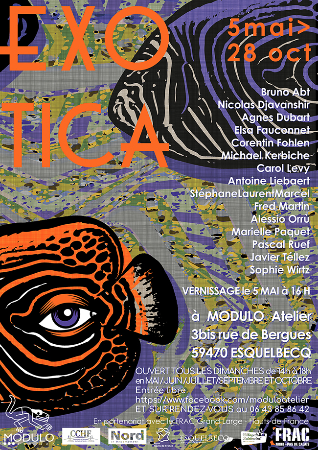 Exotica, exposition collective