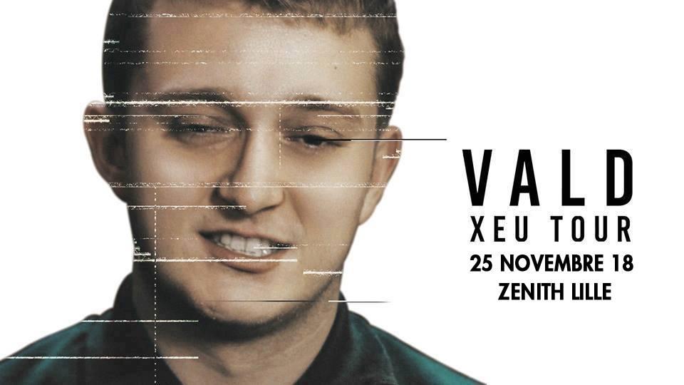 Vald revient au Zénith de Lille
