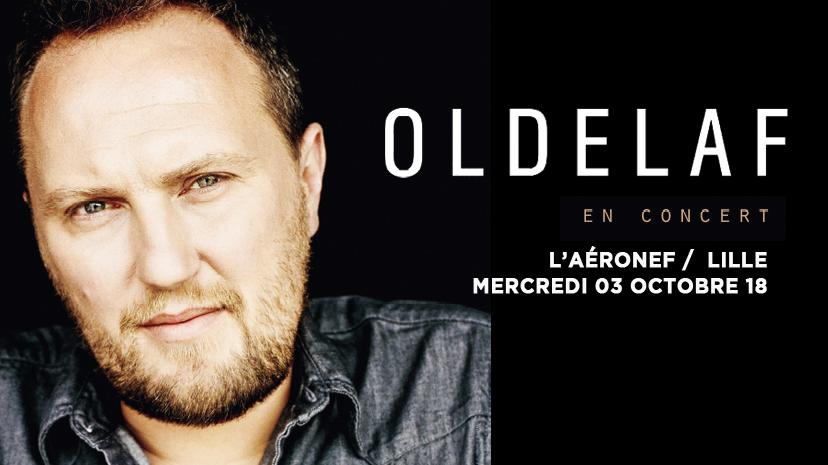 Oldelaf en concert à L'Aéronef