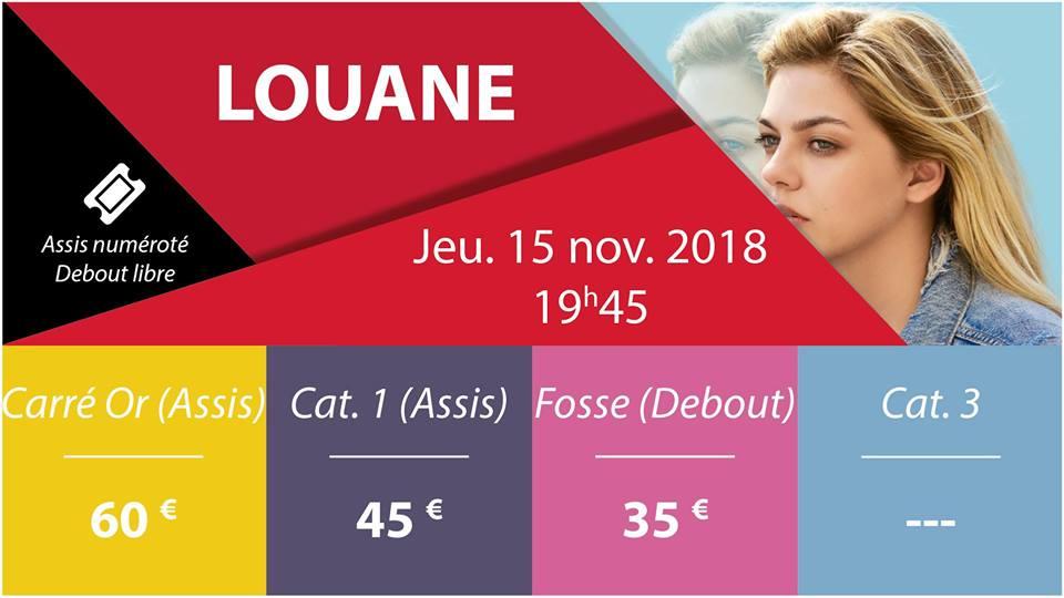 Louane en concert au Sceneo de Longuenesse