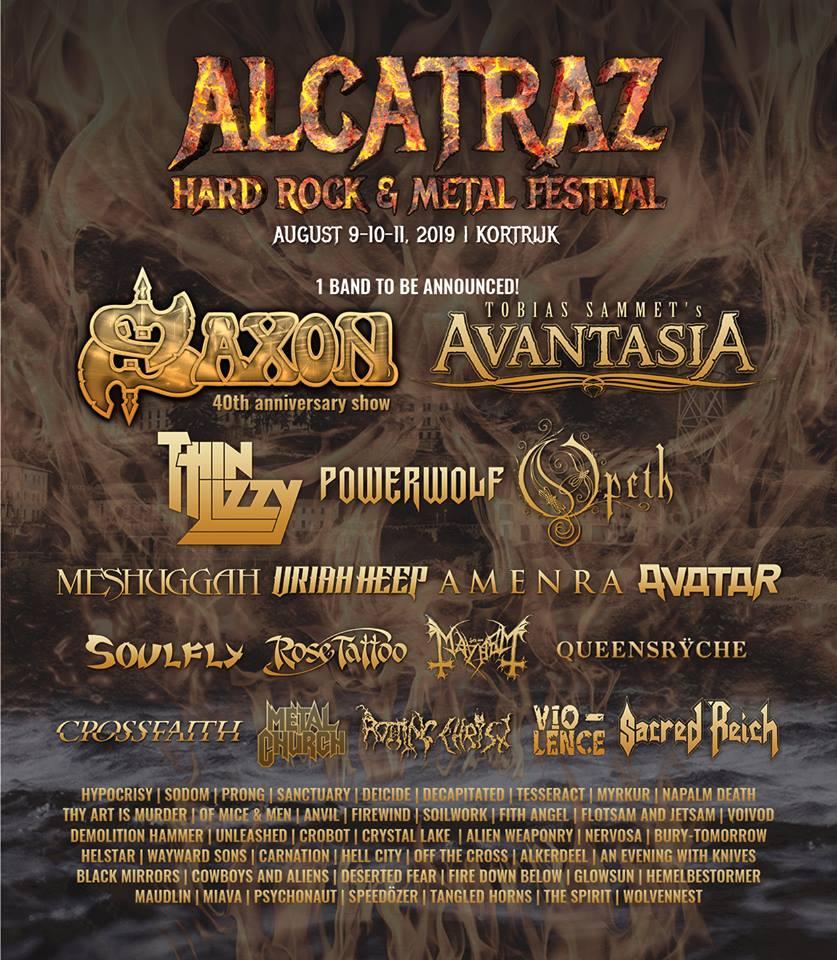 Alcatraz – Hard Rock et Métal Festival