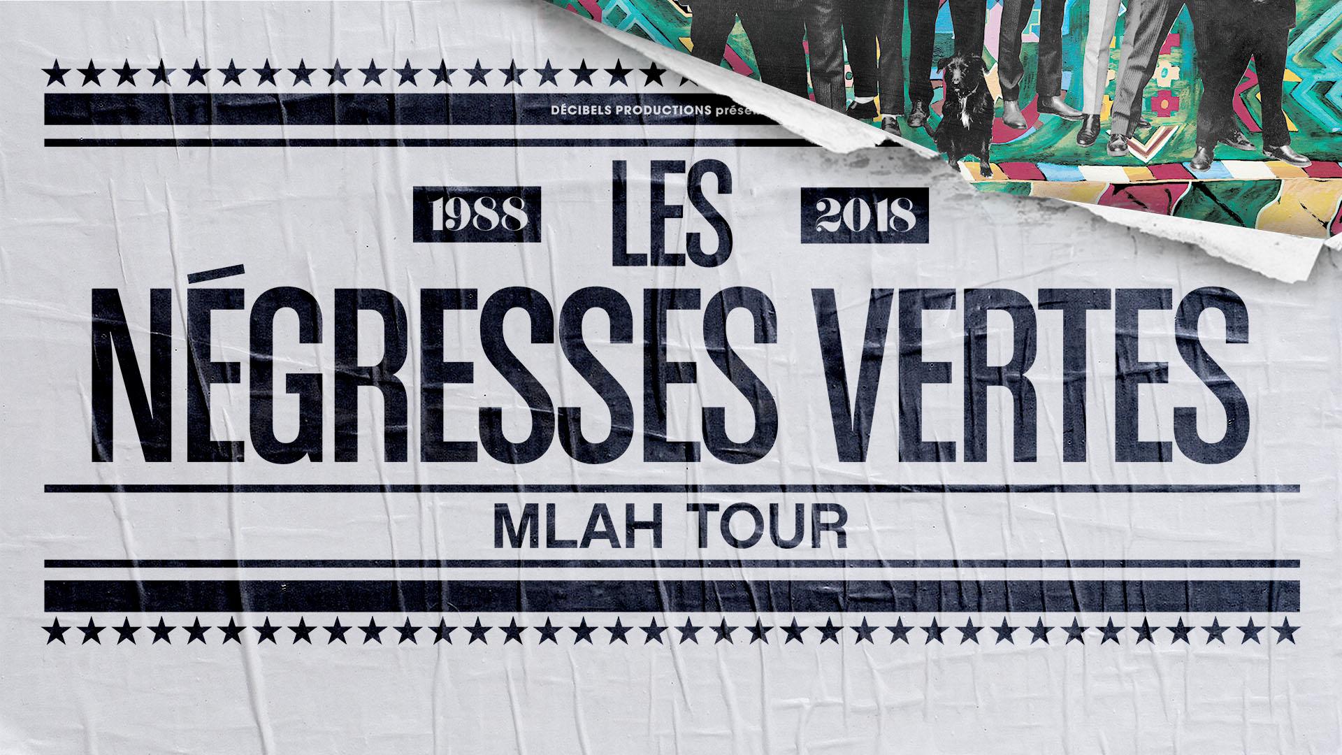 Les Négresses Vertes en tournée pour les 30 ans de «Mlah»