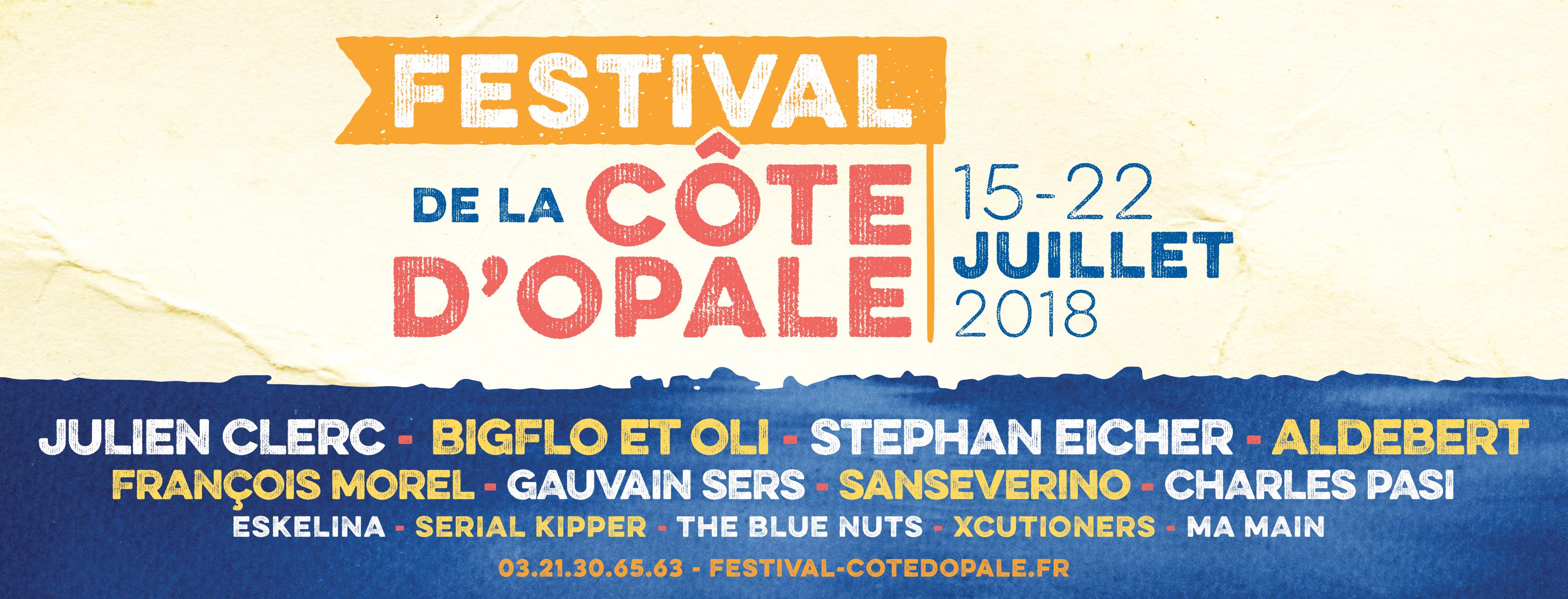 Festival de la Côte d'Opale 2018