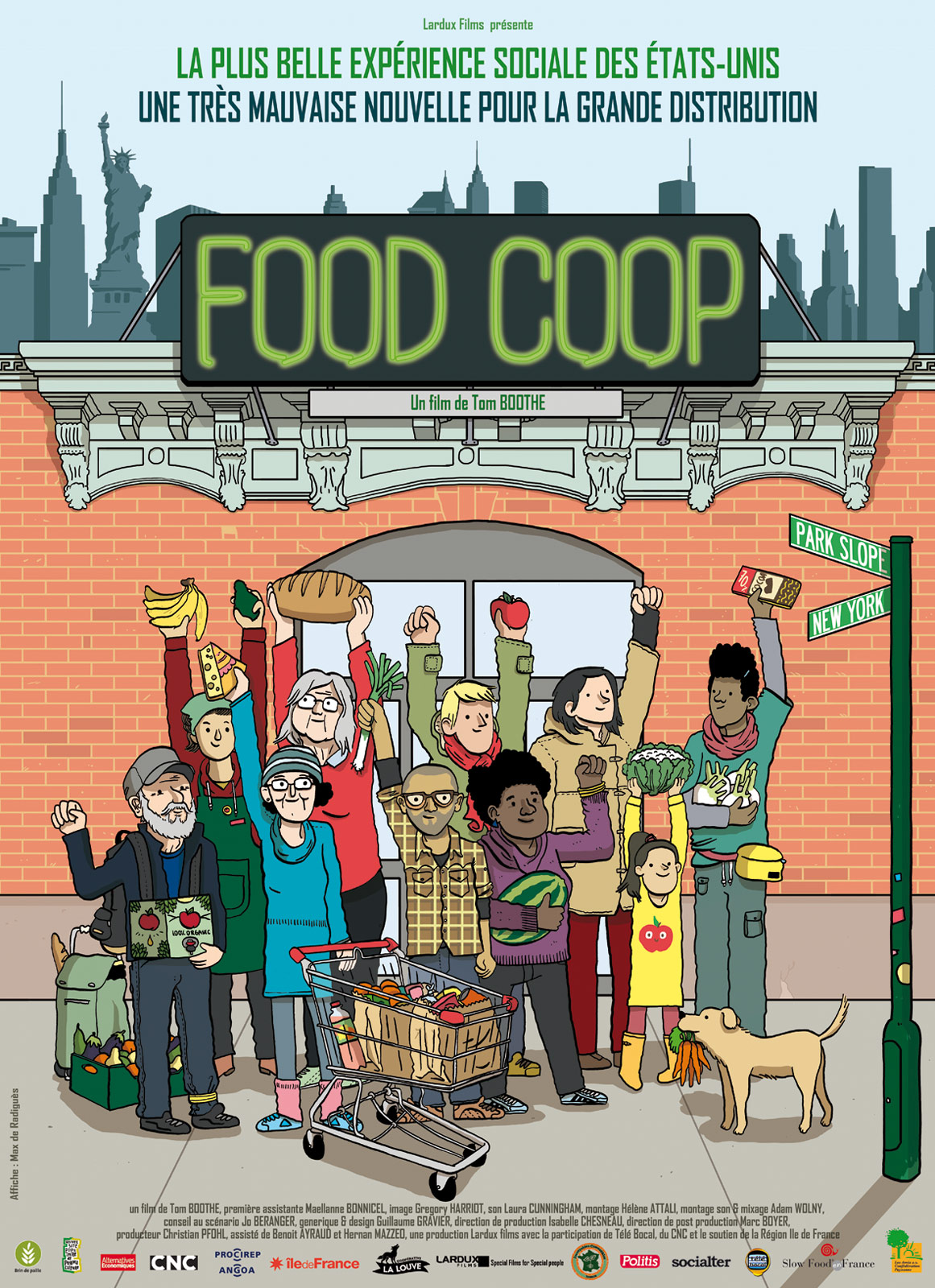 Ciné-Débat : projection et échange autour de Food Coop