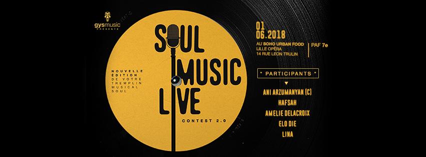 Soul Music Live Contest 2.0, nouveau lieu, nouveau logo