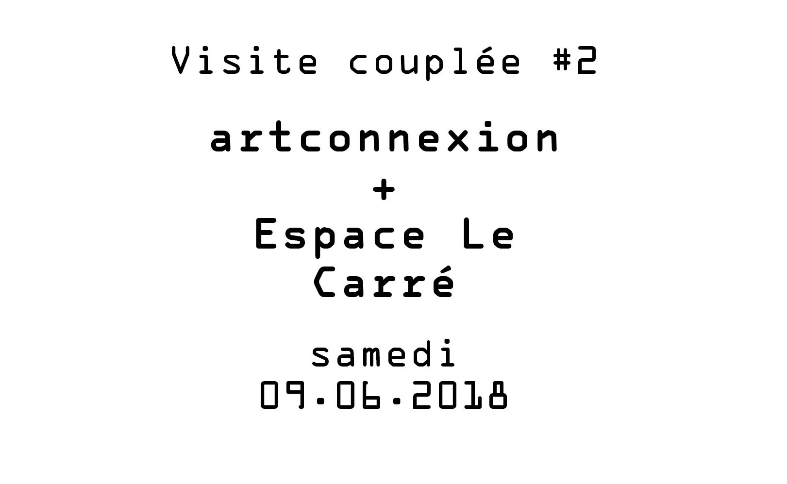 Visite couplée #2 – Artconnexion et Espace Le Carré