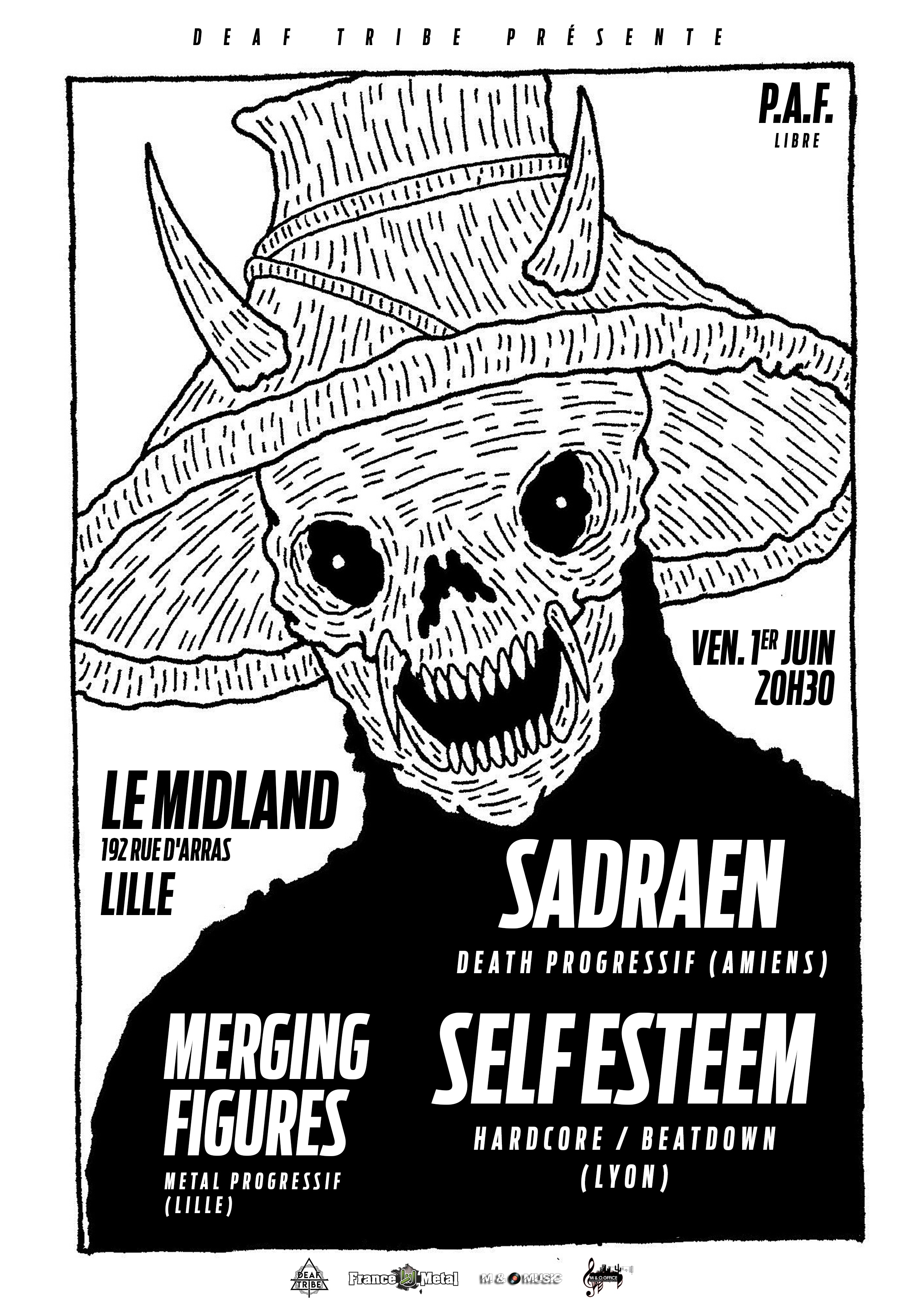 Sadraen + Self Esteem + Merging Figures