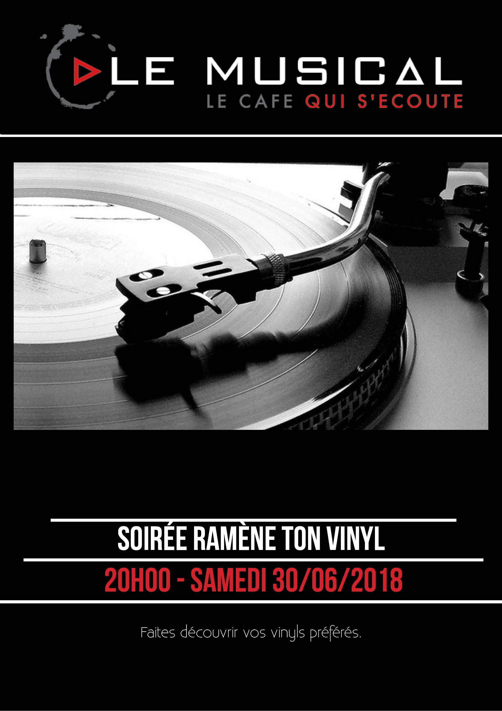 Soirée ramène ton vinyle ! au Musical bar