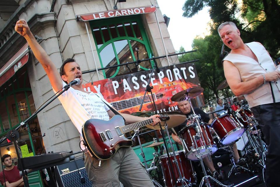 Les Faux Passeports passent au Carnot pour la Fête de la Musique