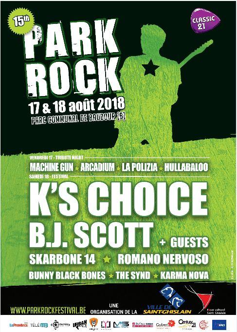 Park Rock Festival 2018 fête ses 15 ans