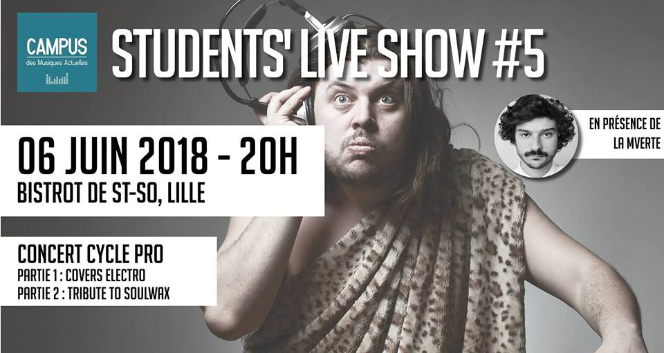 Students Live Show, le dernier de la promo 2017/2018