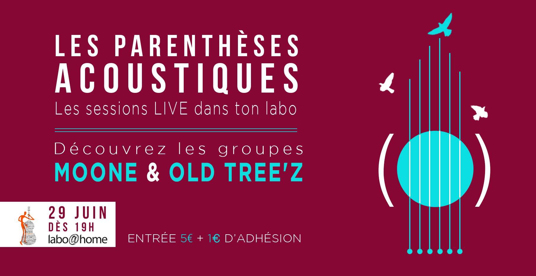 Les Parenthèses Acoustiques reviennent au Labo avec 2 concerts unplugged
