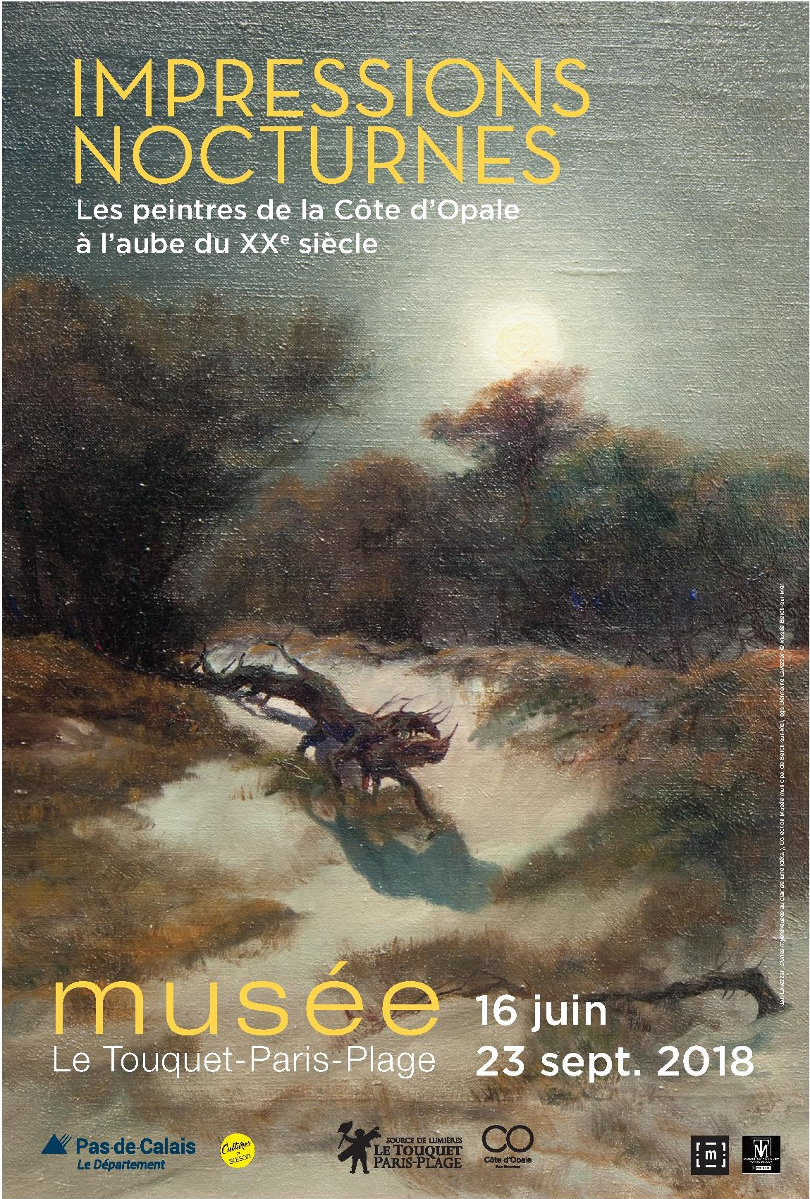 Des Impressions Nocturnes exposées au Touquet