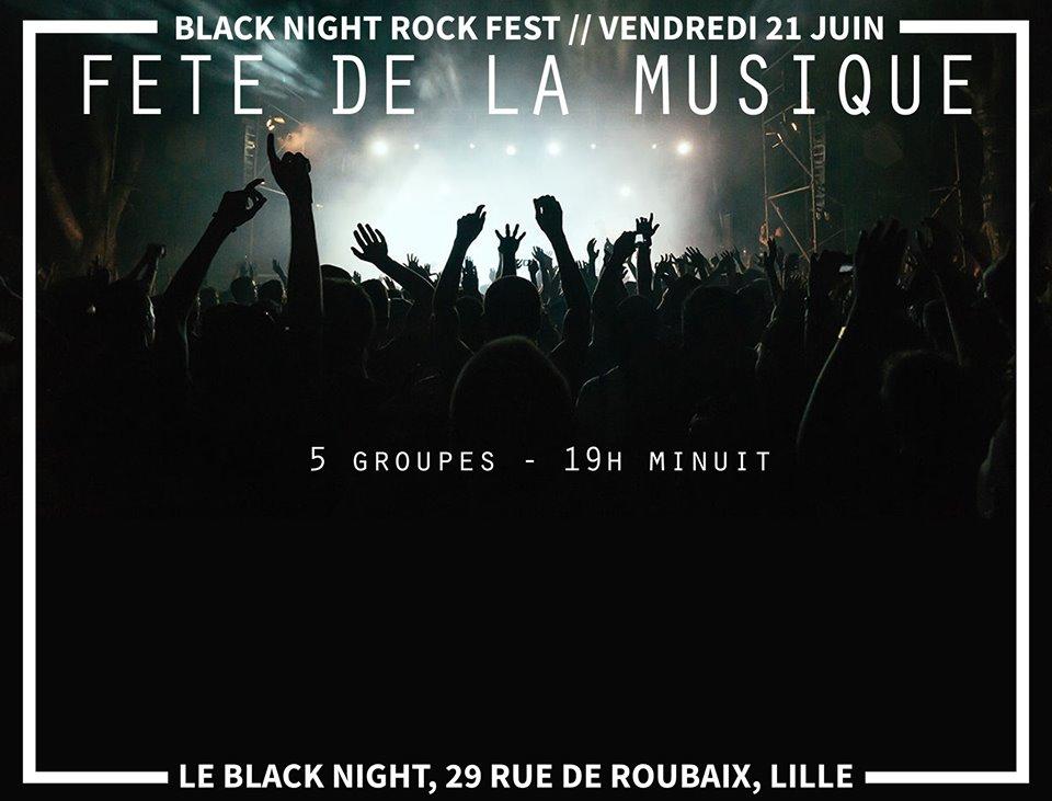 Rock et métal au Black Night Rock Café