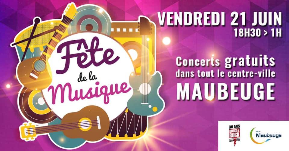 Fête de la musique à Maubeuge