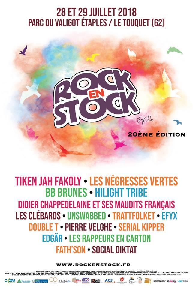 Festival Rock en Stock, la 20ème édition