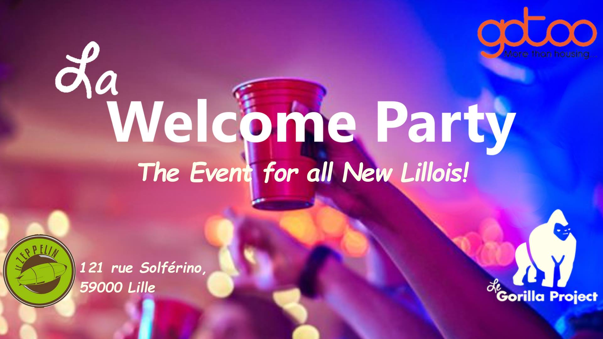 La Welcome Party 2018