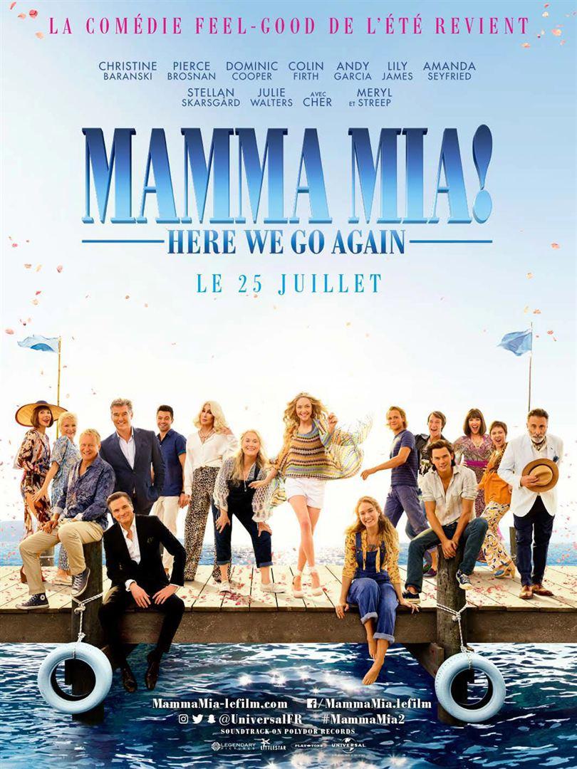 Soirée Filles avec Mamma Mia : Here we go again !