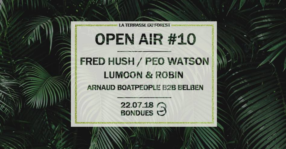 Open Air sur la Terrasse du Forest de Bondues