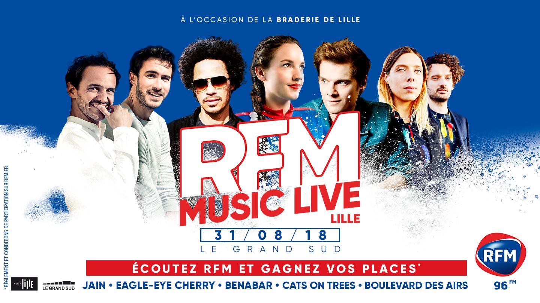 RFM Music Live – Concert de la Braderie de Lille