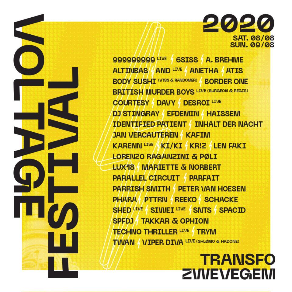 Voltage Festival édition 2020