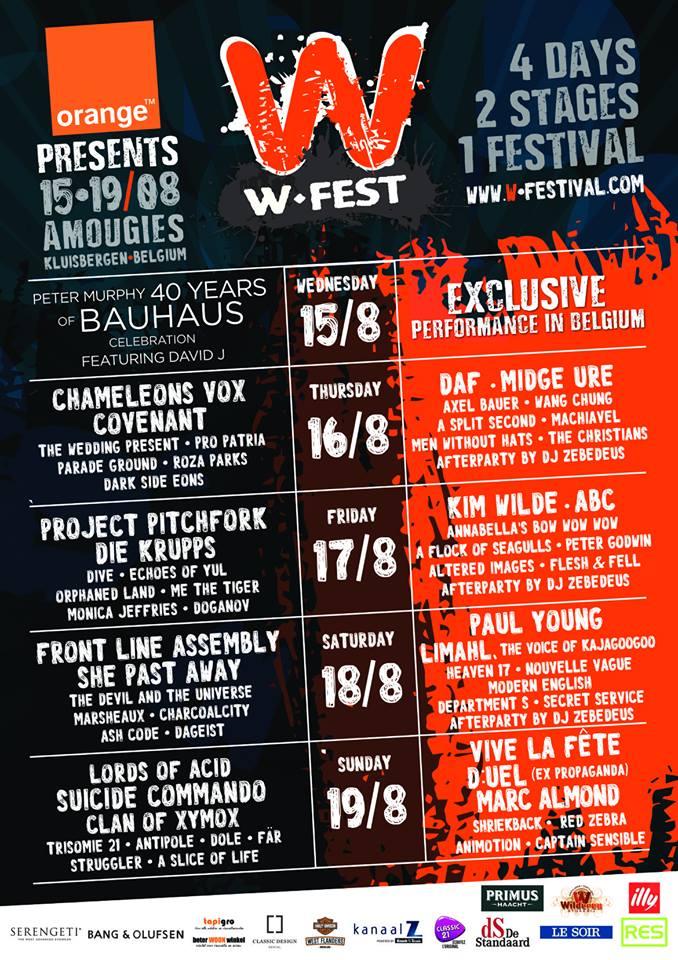 Le W-Fest 2018 – 4 jours, 2 scènes