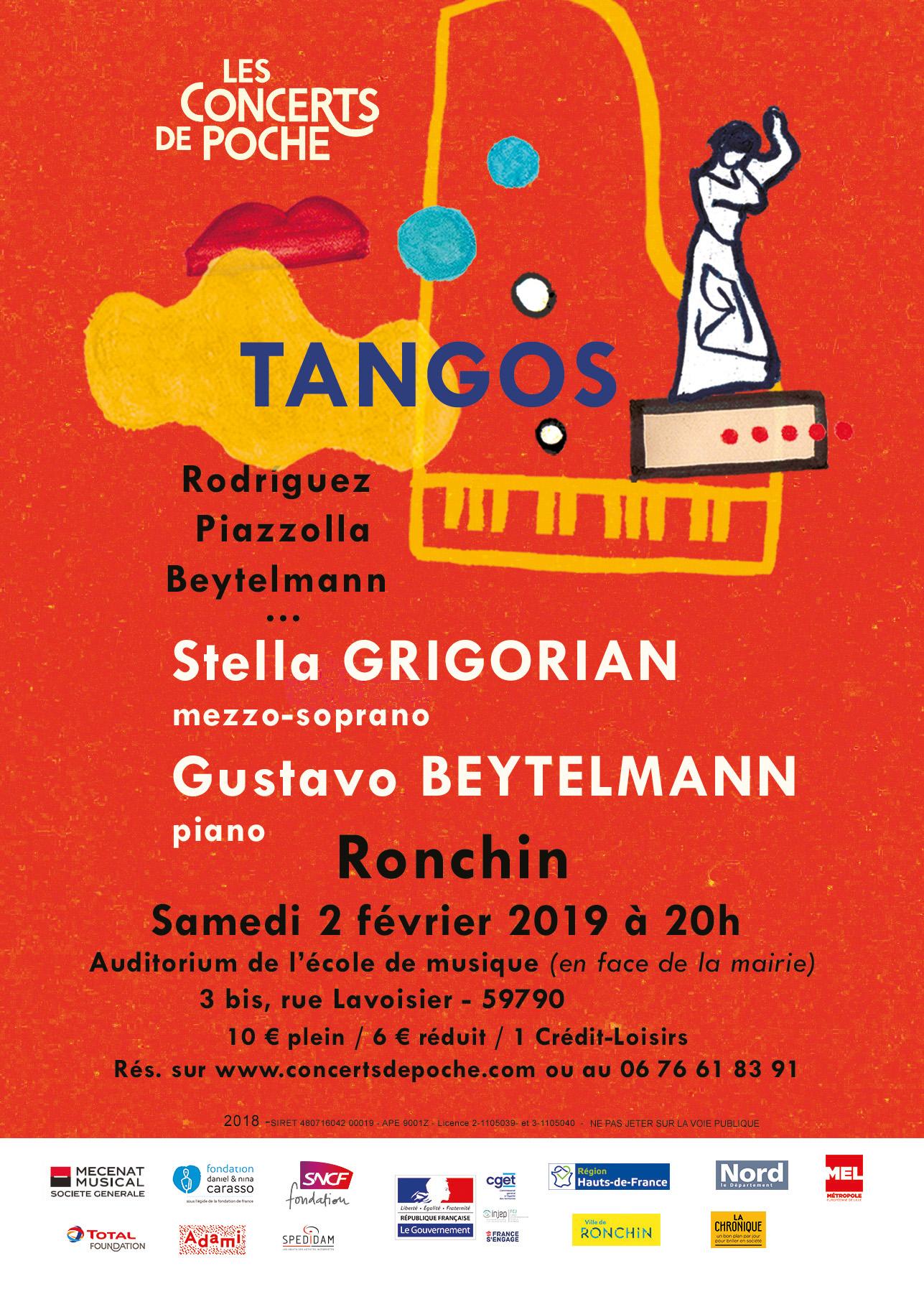 Tangos : Stella Grigorian et Gustavo Beytelmann