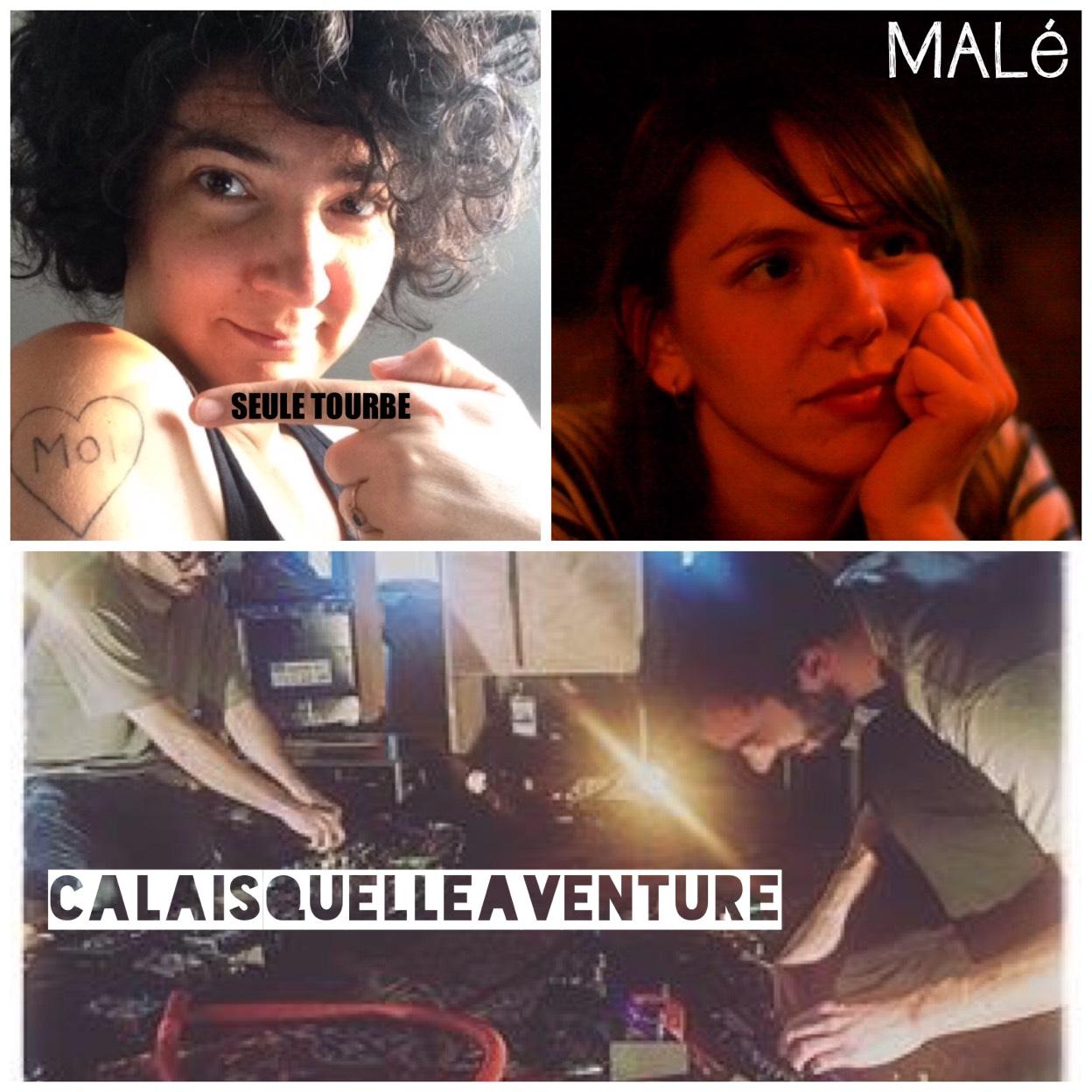 Malé + seule tourbe + calaisquelleaventure