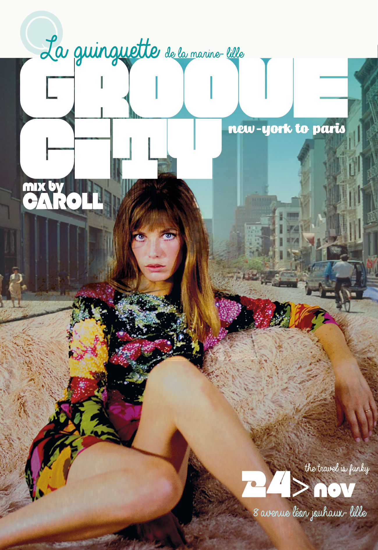 Groove City Mix by Caroll 100% vinyle