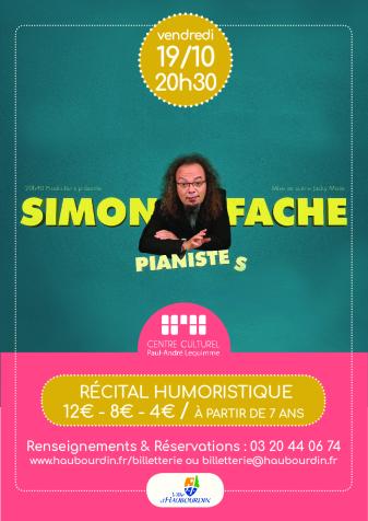 Simon Fache – Pianiste(s)