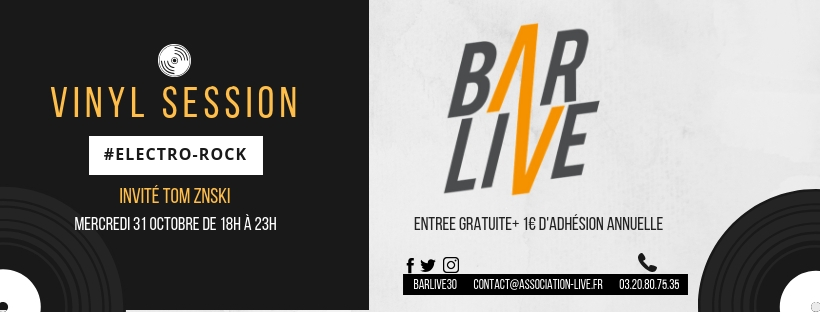 La Vinyl session du Bar Live