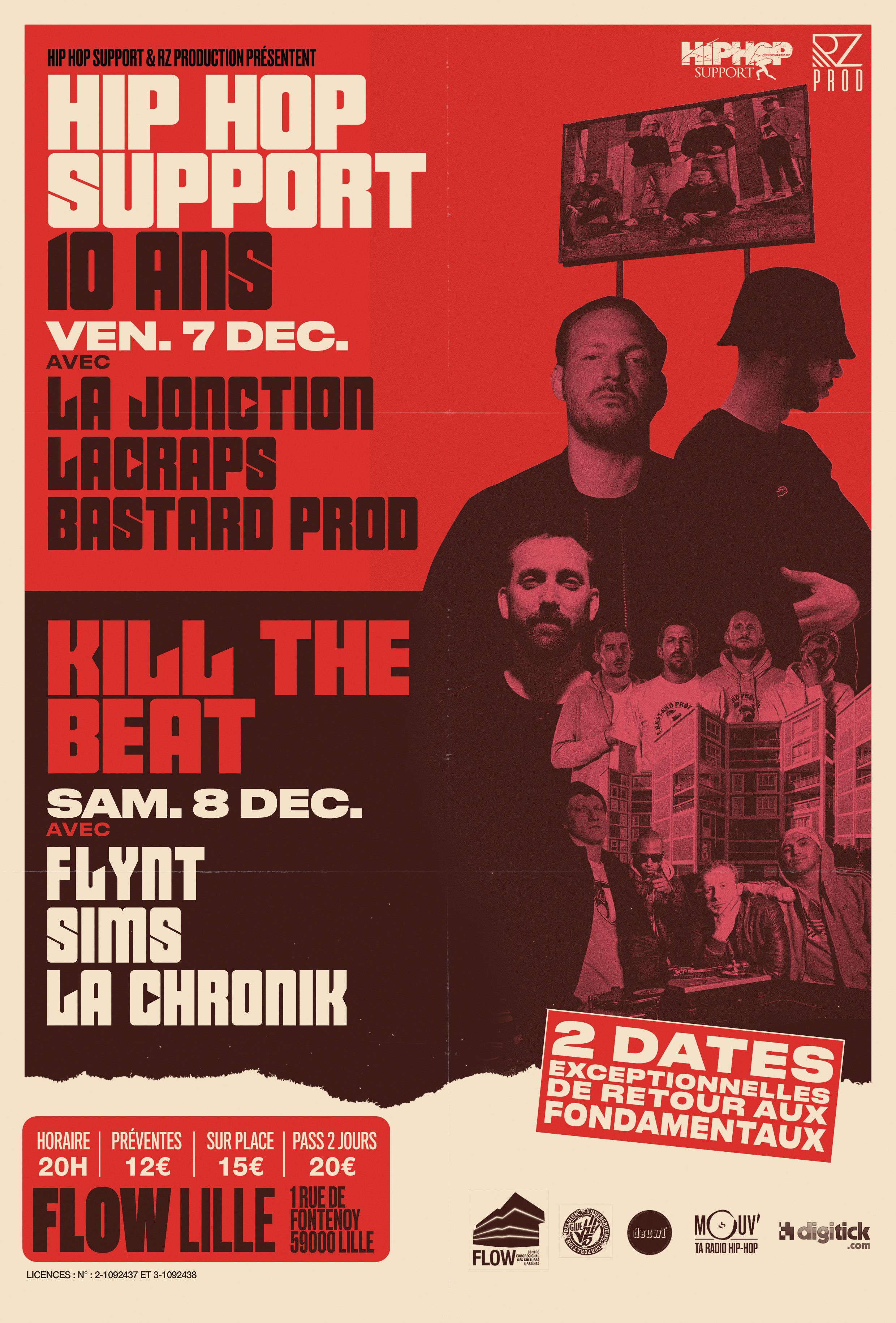 Kill The Beat #3 : La Jonction + Lacraps + Bastard Prod…