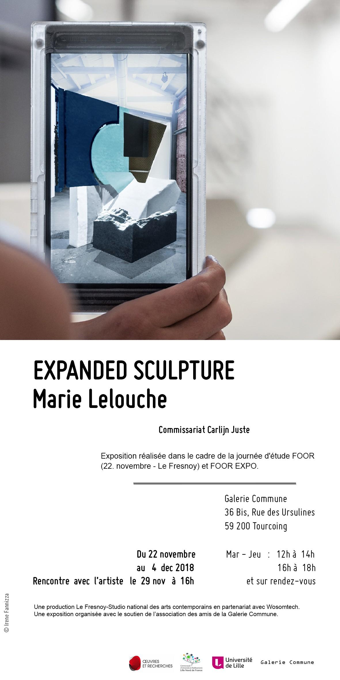 Exposition Expanded Sculpture dans le cadre de Foor