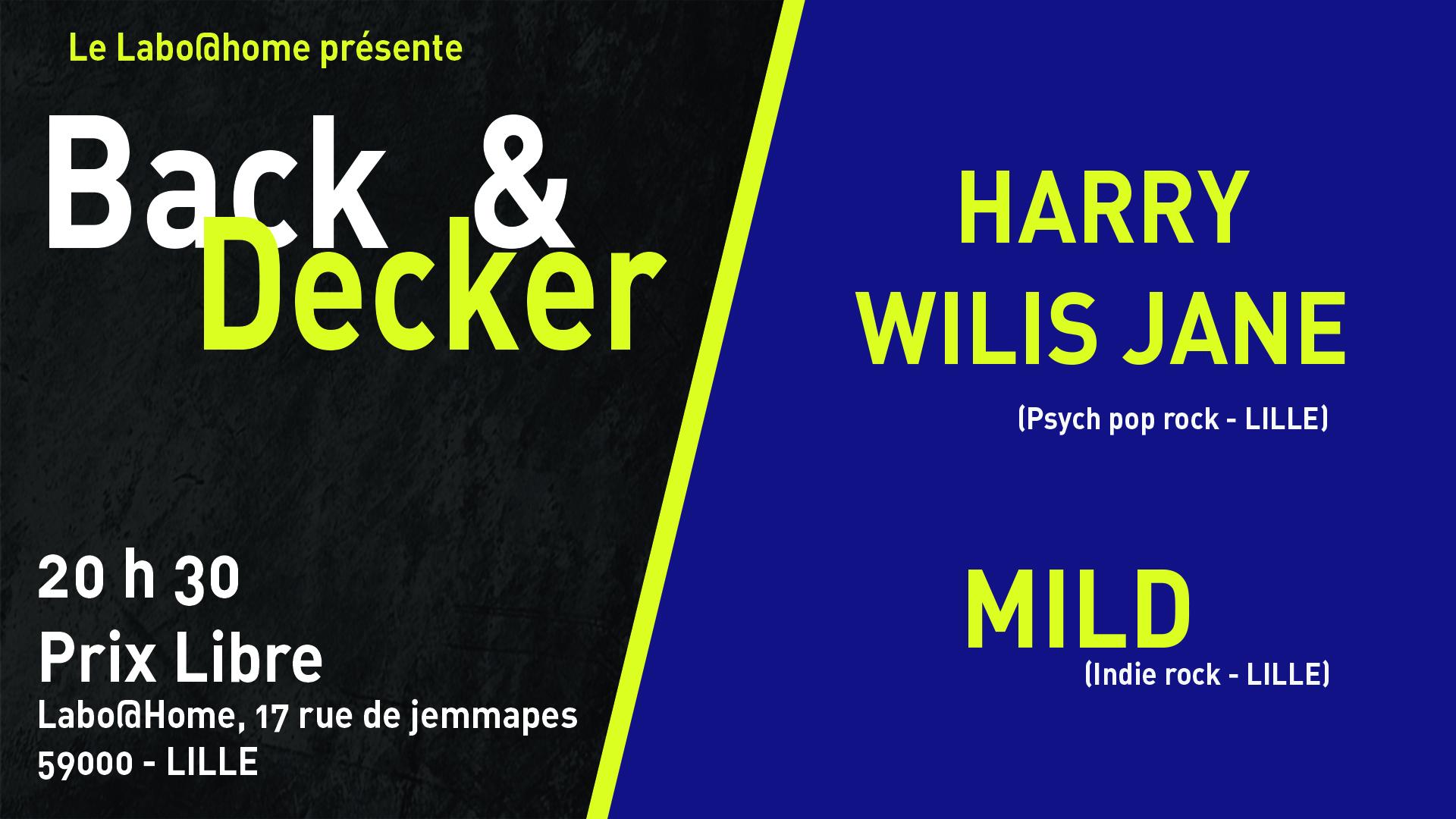 Harry Wilis Jane + Mild