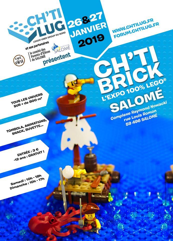 Ch'ti Brick, l'expo 100% Lego